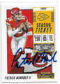 PATRICK MAHOMES II KANSAS CITY CHIEFS AUTOGRAPHED FOOTBALL CARD  #11819D