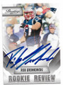 ROB GRONKOWSKI NEW ENGLAND PATRIOTS AUTOGRAPHED FOOTBALL CARD #11919L
