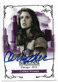 CARRIE FISHER STAR WARS PRINCESS LEIA AUTOGRAPHED CARD #12119J