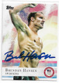 BRENDAN HANSEN US OLYMPIC SWIMMING TEAM AUTOGRAPHED OLYMPICS SWIMMING CARD #12119L