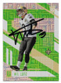 WIL LUTZ NEW ORLEANS SAINTS AUTOGRAPHED ROOKIE FOOTBALL CARD #12219A
