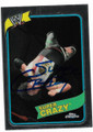 SUPER CRAZY AUTOGRAPHED WRESTLING CARD #12219D