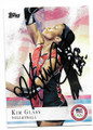 KIM GLASS U.S. OLYMPIC VOLLEYBALL AUTOGRAPHED OLYMPICS CARD #12319H