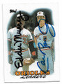 EDDIE MURRAY & CAL RIPKEN JR BALTIMORE ORIOLES DOUBLE AUTOGRAPHED BASEBALL CARD #12319J