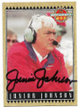 JUNIOR JOHNSON AUTOGRAPHED NASCAR CARD #12419B