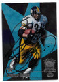 JEROME BETTIS PITTSBURGH STEELERS AUTOGRAPHED FOOTBALL CARD #12719i