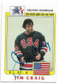 JIM CRAIG AUTOGRAPHED US OLYMPICS HOCKEY CARD #12919B