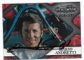 MARIO ANDRETTI AUTOGRAPHED & NUMBERED NASCAR CARD #12919G