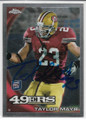 TAYLOR MAYS SAN FRANCISCO 49ers AUTOGRAPHED ROOKIE FOOTBALL CARD #13019A