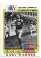 KARL WARNER USA OLYMPIC TRACK TEAM AUTOGRAPHED OLYMPICS CARD #20119C