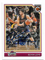 KEVIN LOVE CLEVELAND CAVALIERS AUTOGRAPHED BASKETBALL CARD #20119