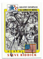 STEVE RIDDICK USA OLYMPIC RELAY TEAM AUTOGRAPHED OLYMPICS CARD #20119L