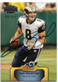 SAM BRADFORD ST LOUIS RAMS AUTOGRAPHED & NUMBERED FOOTBALL CARD #20219H