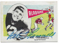 PAT TRAMMELL UNIVERSITY OF ALABAMA CRIMSON TIDE AUTOGRAPHED VINTAGE ROOKIE FOOTBALL CARD #20319H