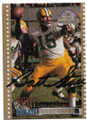 BART STARR GREEN BAY PACKERS AUTOGRAPHED FOOTBALL CARD #20619F