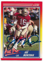JOE MONTANA SAN FRANCISCO 49ers AUTOGRAPHED VINTAGE FOOTBALL CARD  #22419G
