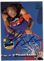 CHARLES BARKLEY PHOENIX SUNS AUTOGRAPHED BASKETBALL CARD #22419i
