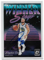 STEPHEN CURRY GOLDEN STATE WARRIORS AUTOGRAPHED BASKETBALL CARD #30619L