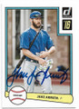 JAKE ARRIETA CHICAGO CUBS AUTOGRAPHED BASEBALL CARD #30719C
