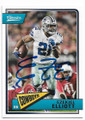 EZEKIEL ELLIOTT DALLAS COWBOYS AUTOGRAPHED FOOTBALL CARD #31419D