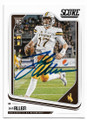 JOSH ALLEN UNIVERSITY OF WYOMING COWBOYS AUTOGRAPHED ROOKIE FOOTBALL CARD #31619B