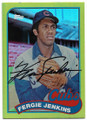 FERGUSON JENKINS CHICAGO CUBS AUTOGRAPHED & NUMBERED BASEBALL CARD #31619F