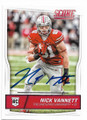 NICK VANNETT OHIO STATE UNIVERSITY BUCKEYES AUTOGRAPHED ROOKIE FOOTBALL CARD #31719A
