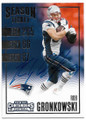 ROB GRONKOWSKI NEW ENGLAND PATRIOTS AUTOGRAPHED FOOTBALL CARD #32019B