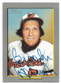 BROOKS ROBINSON BALTIMORE ORIOLES AUTOGRAPHED BASEBALL CARD #32019F