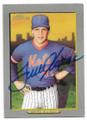 TOM SEAVER NEW YORK METS AUTOGRAPHED BASEBALL CARD #32219E