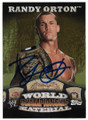 RANDY ORTON AUTOGRAPHED WRESTLING CARD #32619G