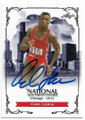 CARL LEWIS OLYMPIC TRACK & FIELD AUTOGRAPHED CARD #32619H
