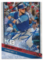 KRIS BRYANT CHICAGO CUBS AUTOGRAPHED BASEBALL CARD #32819E