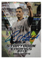 ANDY PETTITTE NEW YORK YANKEES AUTOGRAPHED BASEBALL CARD #33119D