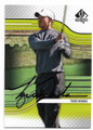TIGER WOODS AUTOGRAPHED GOLF CARD #33119J