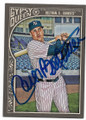 CARLOS BELTRAN NEW YORK YANKEES AUTOGRAPHED BASEBALL CARD #40119F
