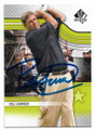 BILL LAIMBEER DETROIT PISTONS AUTOGRAPHED GOLF CARD #40119G