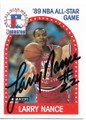 LARRY NANCE SR CLEVELAND CAVALIERS ALL-STAR AUTOGRAPHED VINTAGE BASKETBALL CARD #40219A