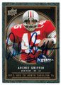 ARCHIE GRIFFIN OHIO STATE BUCKEYE AUTOGRAPHED FOOTBALL CARD #40219H