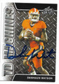 DESHAUN WATSON CLEMSON UNIVERSITY FIGHTING TIGERS AUTOGRAPHED ROOKIE FOOTBALL CARD #40319A
