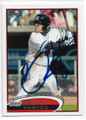 BRYCE HARPER SYRACUSE CHIEFS AUTOGRAPHED ROOKIE BASEBALL CARD #40419J