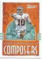 JIMMY GAROPPOLO SAN FRANCISCO 49ers AUTOGRAPHED FOOTBALL CARD #40619F