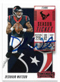 DESHAUN WATSON HOUSTON TEXANS AUTOGRAPHED FOOTBALL CARD #40819F