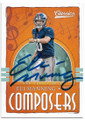 ELI MANNING NEW YORK GIANTS AUTOGRAPHED FOOTBALL CARD #41019A