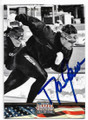 DAN JANSEN AUTOGRAPHED OLYMPICS CARD #41119D