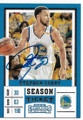 STEPHEN CURRY GOLDEN STATE WARRIORS AUTOGRAPHED BASKETBALL CARD #41419D