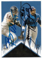 BRIAN URLACHER & SAMMY SOSA CHICAGO BEARS & CHICAGO CUBS DOUBLE AUTOGRAPHED CARD #41619H