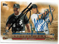 FRANK THOMAS & JOSE ABREU CHICAGO WHITE SOX DOUBLE AUTOGRAPHED BASEBALL CARD #41719A