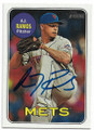 AJ RAMOS NEW YORK METS AUTOGRAPHED BASEBALL CARD #41719C