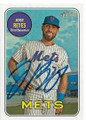 JOSE REYES NEW YORK METS AUTOGRAPHED BASEBALL CARD #41819E